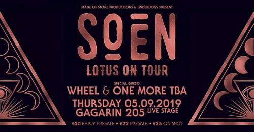 Soen, Wheel Αθήνα @ Gagarin 205