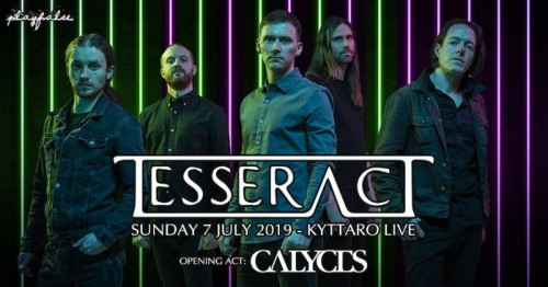 TesseracT, Calyces Αθήνα @ Κύτταρο