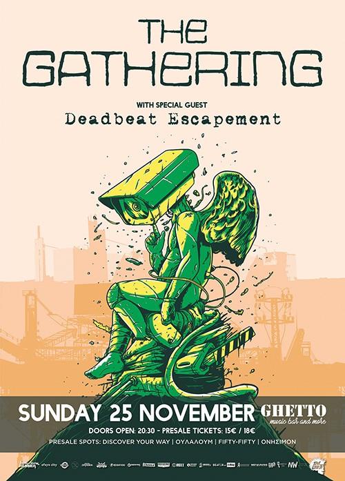 The Gathering, Deadbeat Escapement Πάτρα @ Ghetto Bar