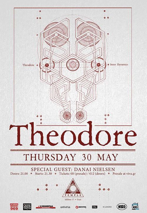 Theodore, Danai Nielsen Αθήνα @ Temple Athens