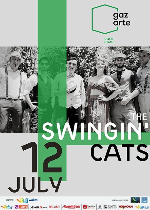 The Swingin' Cats Αθήνα @ Gazarte