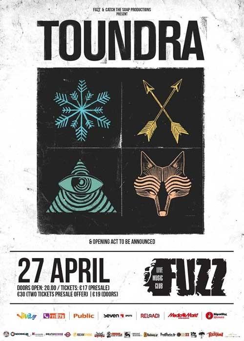 Toundra, Allochiria, Their Methlab Αθήνα @ Fuzz Club