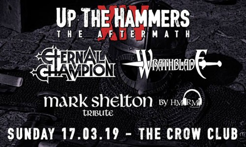 Up The Hammers After Party: Eternal Champion, Wrathblade,  Αθήνα @ The Crow