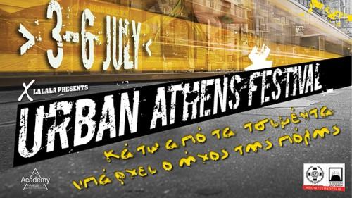 Urban Athens Festival: Γιάννης Αγγελάκας & 100°C, Παύλος Παυλίδης & B-Movies, Λεωνίδας Μπαλάφας Αθήνα @ -