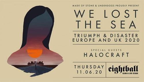 We Lost The Sea, Halocraft Θεσσαλονίκη @ Eightball