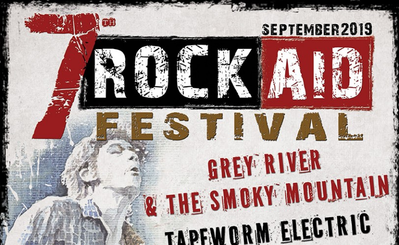 Rock Aid Festival: Αλέξανδρος & Αστικά Καβούκια, Tapeworm Electric, Grey River & The Smoky Mountain